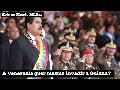 A Venezuela quer mesmo invadir a Guiana?