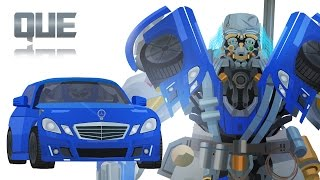 QUE - Short Flash Transformers Series