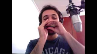 Clifford Brown solo in Diatonic Harmonica (Pent-Up House - Sonny Rollins)