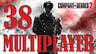 Company of Heroes 2 | Multiplayer 38 | British | Heidelburg Crossings | A Bad Way to Go