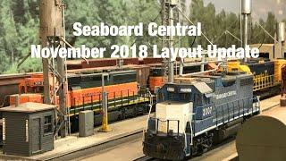 Seaboard Central November 2018 Layout Update