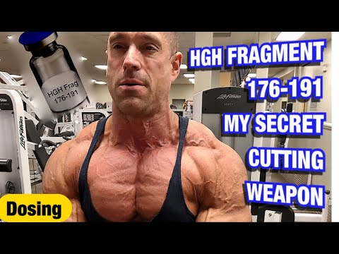 Fragment 176-191 Secret Weapon Fat Burner For Extreme Cutting Cycles. Dosing, Timing,