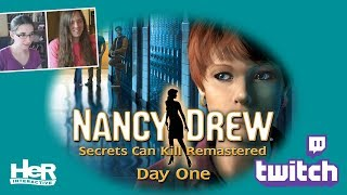 Nancy Drew: Secrets Can Kill REMASTERED [Day One: Twitch] | HeR Interactive