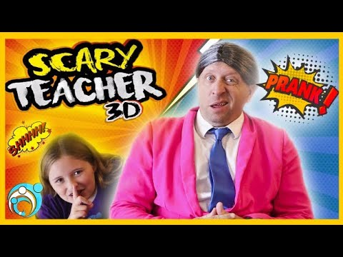 Scary Teacher In Real Life | Thumbs Up Family Pranking Miss T Vacation