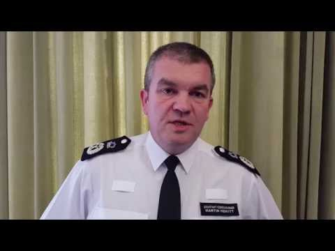 Met Police Assistant Commissioner Martin Hewitt in Stamford Hill