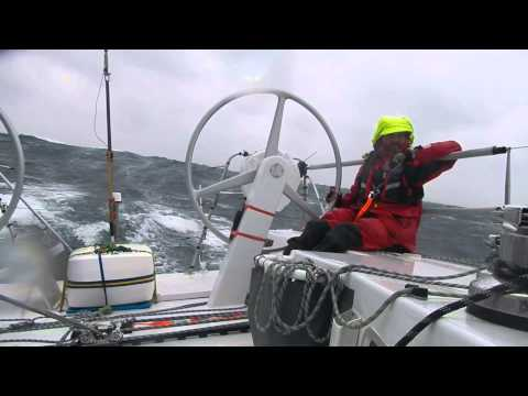 Cadibarra 8 - Melbourne to Osaka - Gale Force winds and sailing down wind