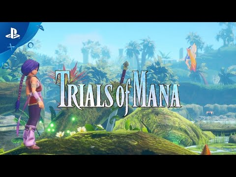 Trials of Mana - Gameplay Trailer | PS4
