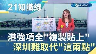 背後計謀想取代香港!?