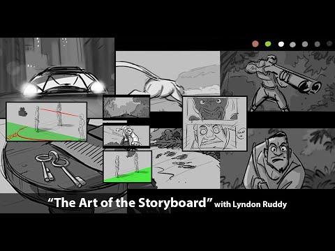 The Art Of The Storyboard - Sneak Peek By Special Guest Lyndon Ruddy