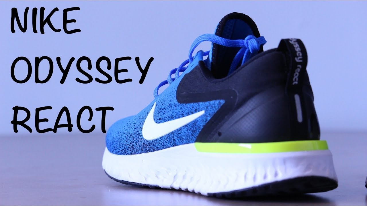 watch 68cf4 09e95 Nike Odyssey React - Photo Blue - Quick Look   On Feet