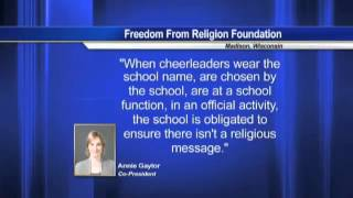 Freedom From Religion Foundation co-president talks with KFDM about Kountze banner court case