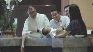 MIDAS DREW BAPTISM at St Philomena Church  Carson CA