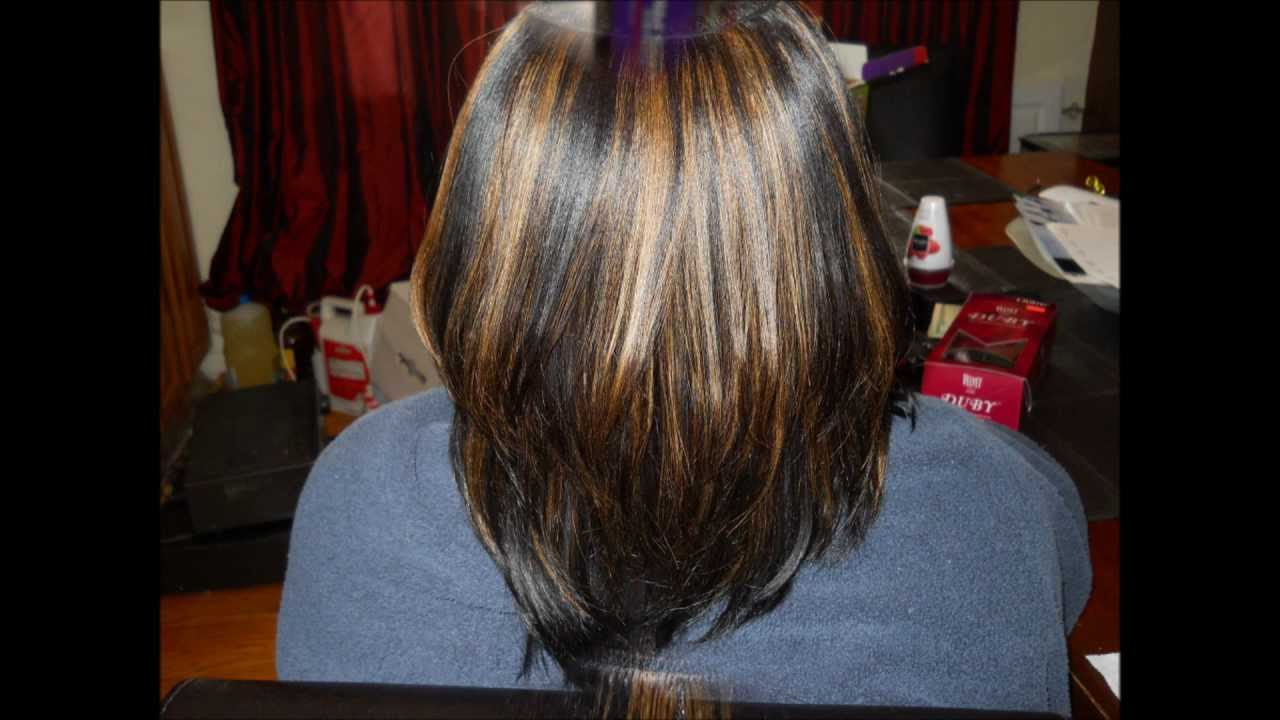 Duby Hair Weave Styles: Outre Duby Invisible Part Quick Weave