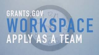 Apply for Federal Grants as a Team with Grants.gov Workspace [Promo]