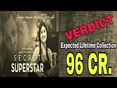 SECRET SUPERSTAR MOVIE HIT OR FLOP | REVIEW | LIFETIME COLLECTION | AAMIR KHAN, ZARIA WASIM