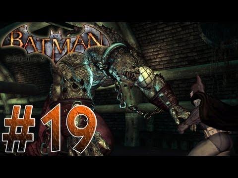 Arkham Asylum - Batman Vs Killer Croc! Batman Arkham Asylum Part 19