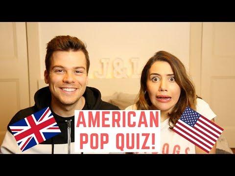 🇬🇧 Brits Do American Quiz! 🇺🇸