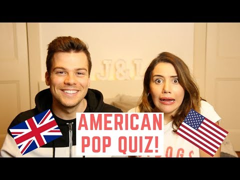🇬🇧 British People Do American Quiz! 🇺🇸   American Vs British