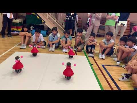 渋谷区の小学校で「村田製作所チアリーディング部」のパフォーマンス