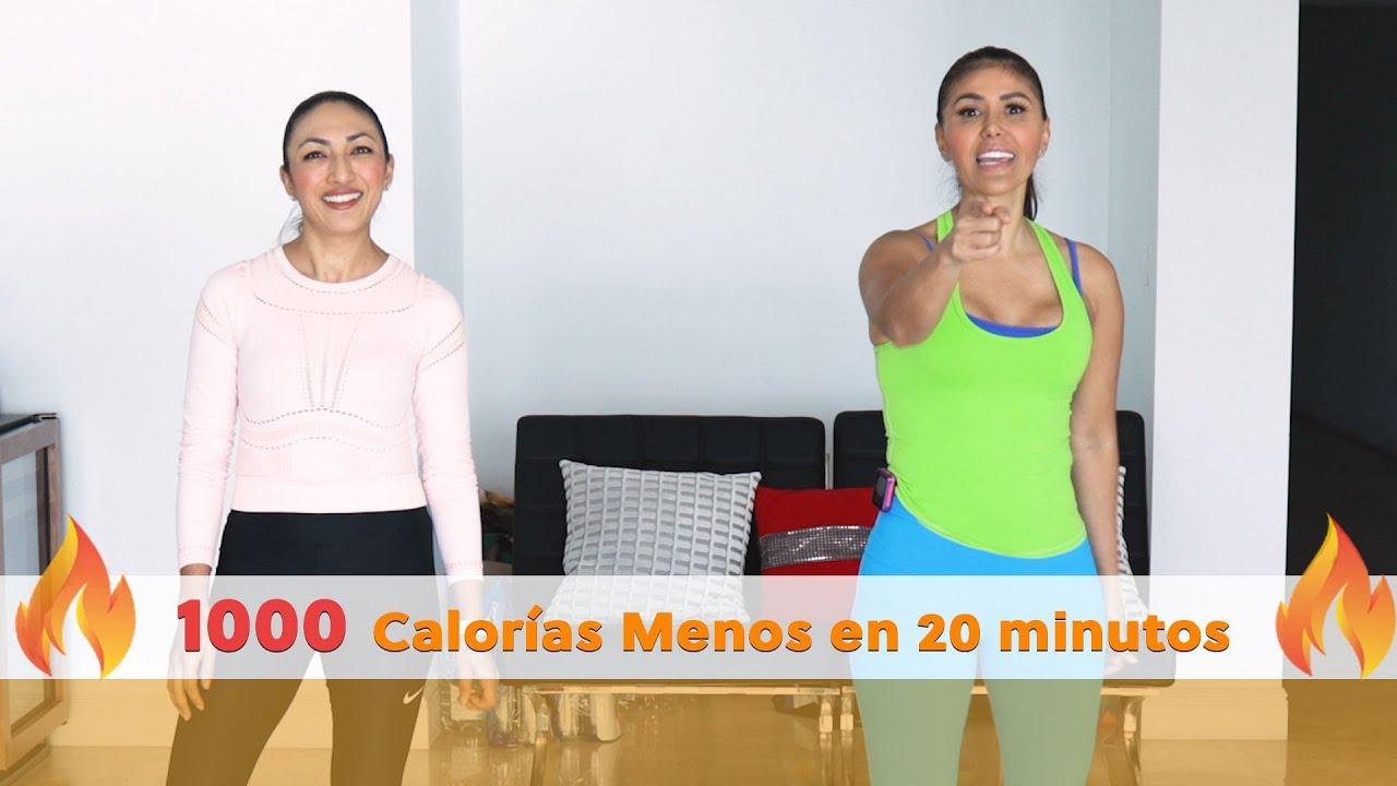 ¡1000 Calorías Menos en 30 minutos! Rutina de Cardio para Cuerpo Completo