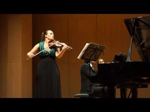 Beethoven Sonata in G op.96 (1st mov.) - Julia Schröder (violin) LIVE