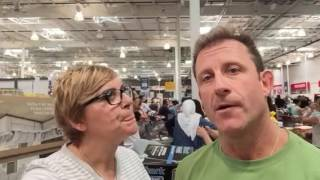 Waiting in the line AT COSTCO