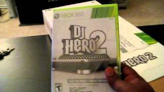 DJ Hero 2 Bundle Unboxing