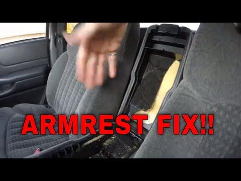 vidaXL Car Armrest Black Arm Rest Centre Console Car