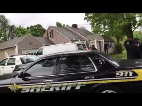 Springfield Massachusetts protest supporting family being evicted from home