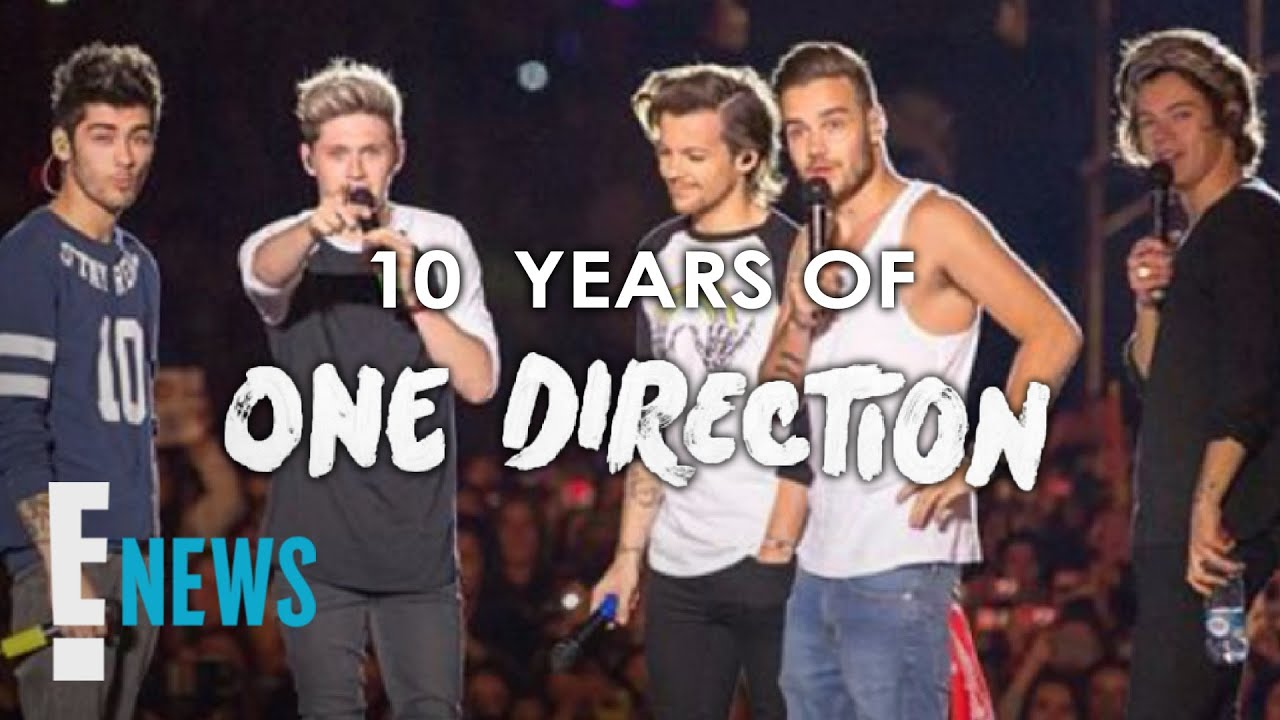 One Direction's 10-Year Anniversary Tributes News