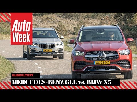 Mercedes-Benz GLE vs. BMW X5 - AutoWeek Dubbeltest - English subtitles