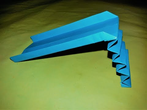 How to make a origami playground slide  |  Paper Playground For kinds  |