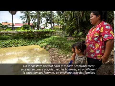 Cambodge : Amélioration de l'alimentation grâce à la pisciculture familiale