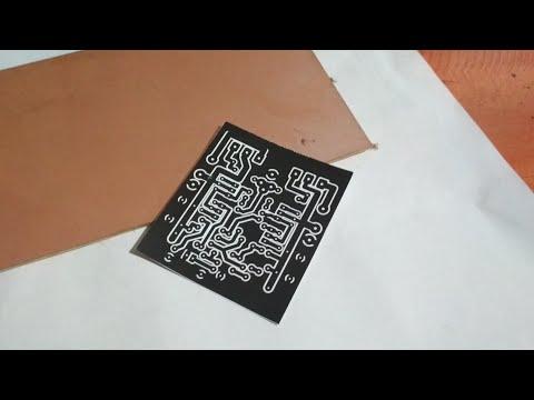 How to make high quality homemade PCB