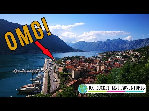I COULD HAVE DIED!! *Exploring Porto Montenegro and Kotor*
