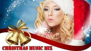 Nonstop Christmas Songs ♪ Techno Dance Mix - Jingle Bells & More Remix 2018