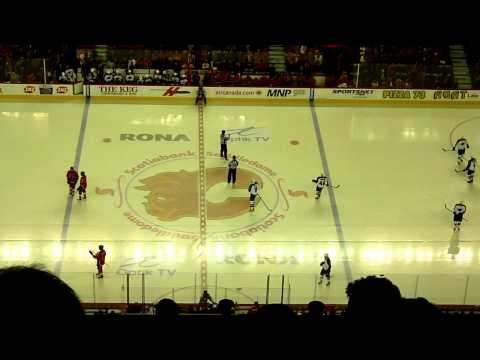 Calgary Flames vs Minnesota Wild, Scotiabank Saddledome