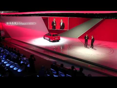 Audi Sport Press Conference at the 2013 Geneva Motor Show