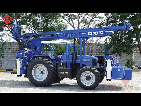 Tractor mounted drilling machine | Paranthaman Exporters - Piling drilling rigs