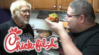 ANGRY GRANDPA MAKES CHICK-FIL-A!
