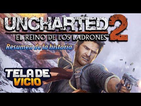 Uncharted, resumen de la historia Español (parte 2/3 El reino de los ladrones, remasterizada 1080p)