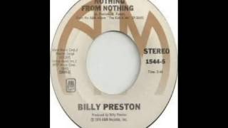 Billy Preston - Nothing From Nothing (1974)