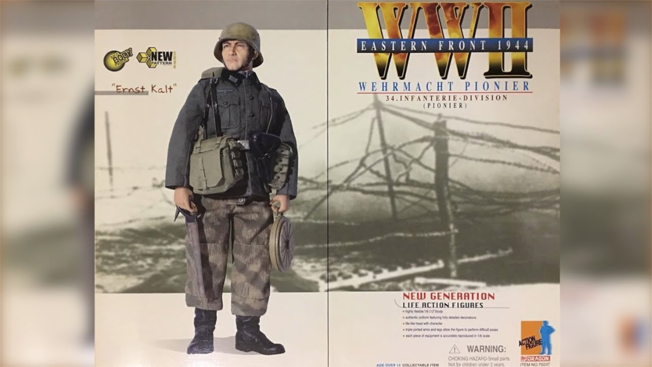 DID 1//6 WWII German Engineer Saw and Sheath Dragon