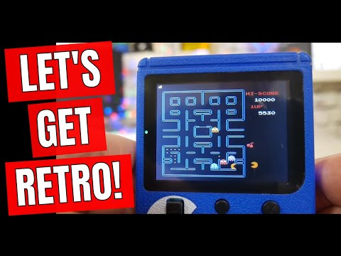 Old School Gaming In Your Pocket SUP 400 Retro Gaming Box