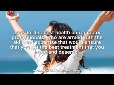 Chiropractor St Petersburg FL 727.327.1717 Back Pain Relief Clinics