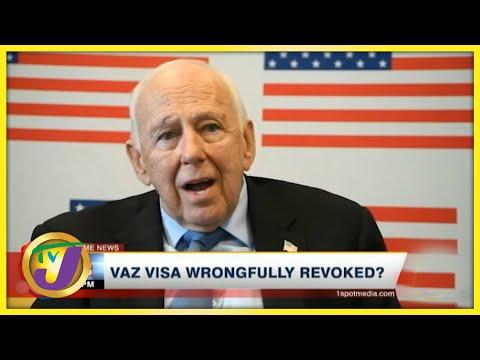 Vaz Visa Wrongfully revoked?   TVJ News - July 12 2021