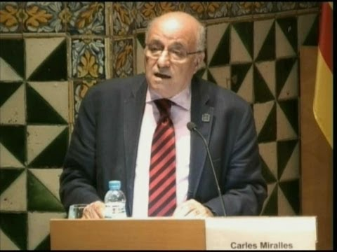 Celebració de l'Onze de Setembre a l'Institut d'Estudis Catalans - 2013