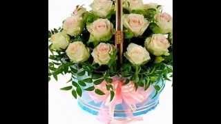 видео Цветы для любимой девушки