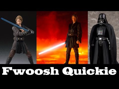 Quickie! SH Figuarts Anakin Skywalker from Revenge of the Sith and a Little Bit of Darth Vader