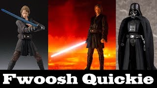 Quickie! S.H. Figuarts Anakin Skywalker from Revenge of the Sith and a Little Bit of Darth Vader